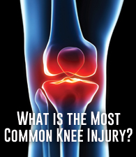 What is the Most Common Knee Injury?
