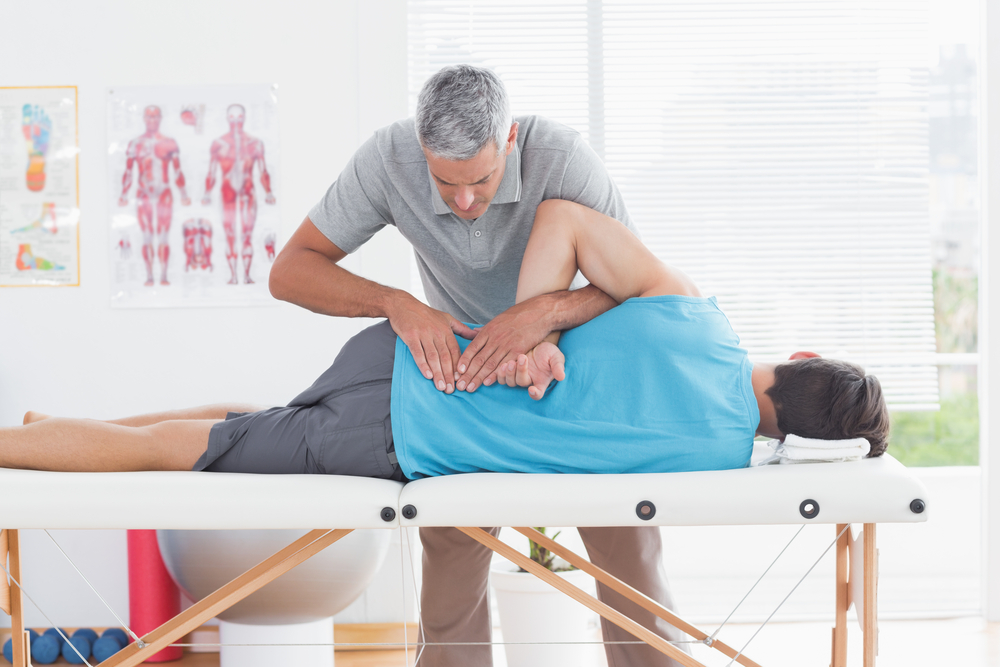 Back pain, physical therapy