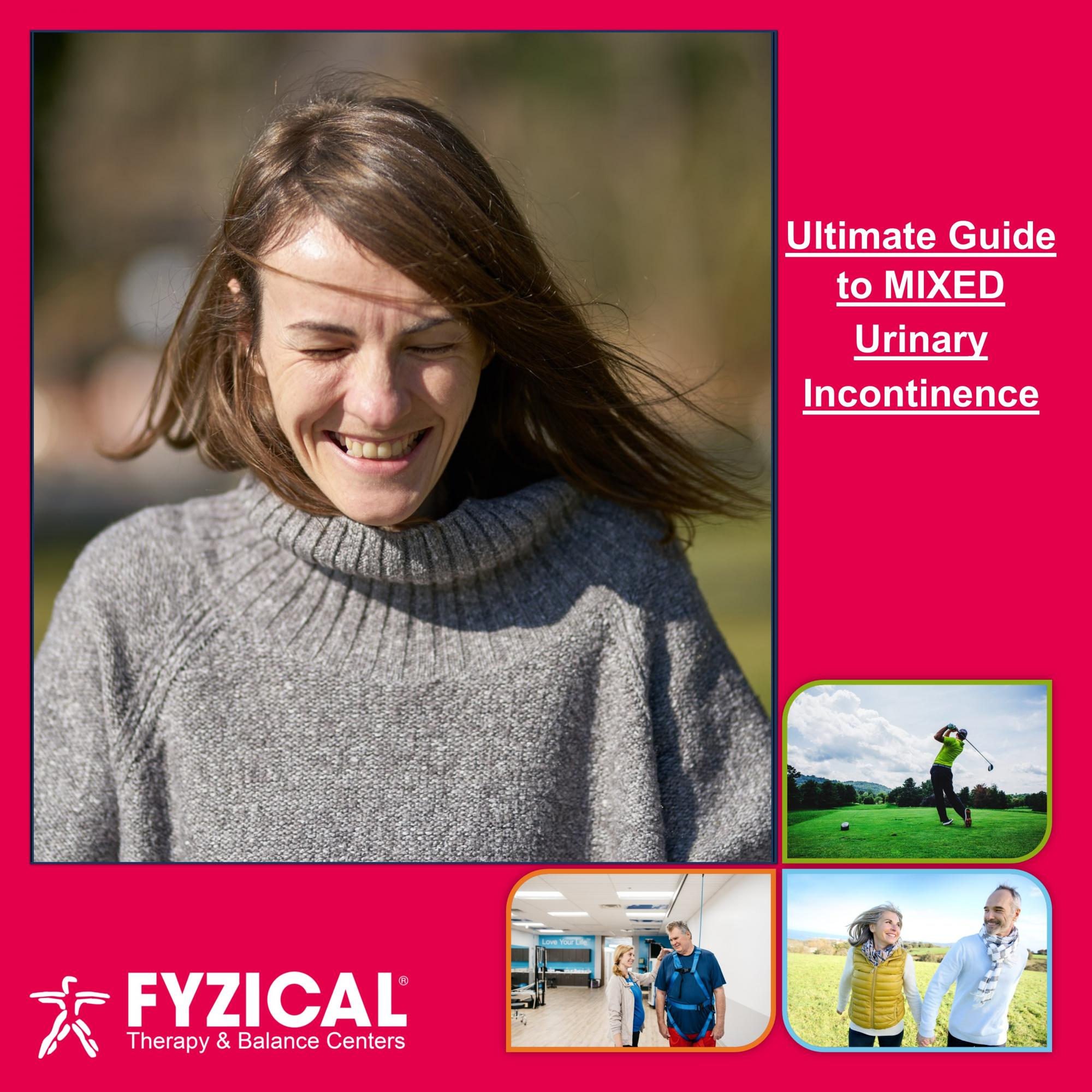 Ultimate Guide to Mixed Urinary Incontinence. What is Mixed Incontinence? What makes mixed incontinence worse? How do you treat mixed incontinence?